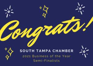 South Tampa Chamber Award